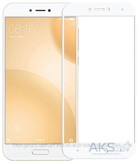 Защитное стекло Xiaomi Mi5c|BeCover|Белый|На весь экран