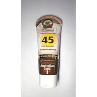 Australian Gold SPF 45 Premium Coverrage Faces Bronzer Сонцезахисний крем д/обличчя, шиї, декольте з бронз 88 мл