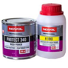 Грунт кислотный Novol PROTECT 340 Wash Primer с отвердителем 0.2л+0.2л
