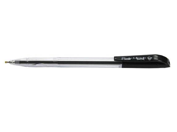 Ручка шариковая Flair 955 черный Twist, фото 2