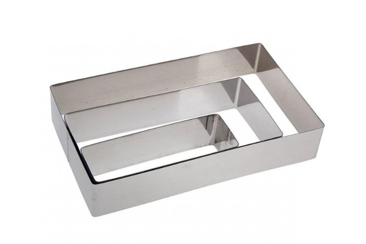 Набор форм Прямоугольных 3 шт. метал. Галетте - 05869