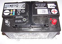 Аккумулятор VAG 72Ah/380A (-/+)