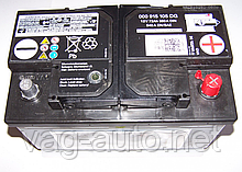 Акумулятор VAG 72Ah/380A (-/+)