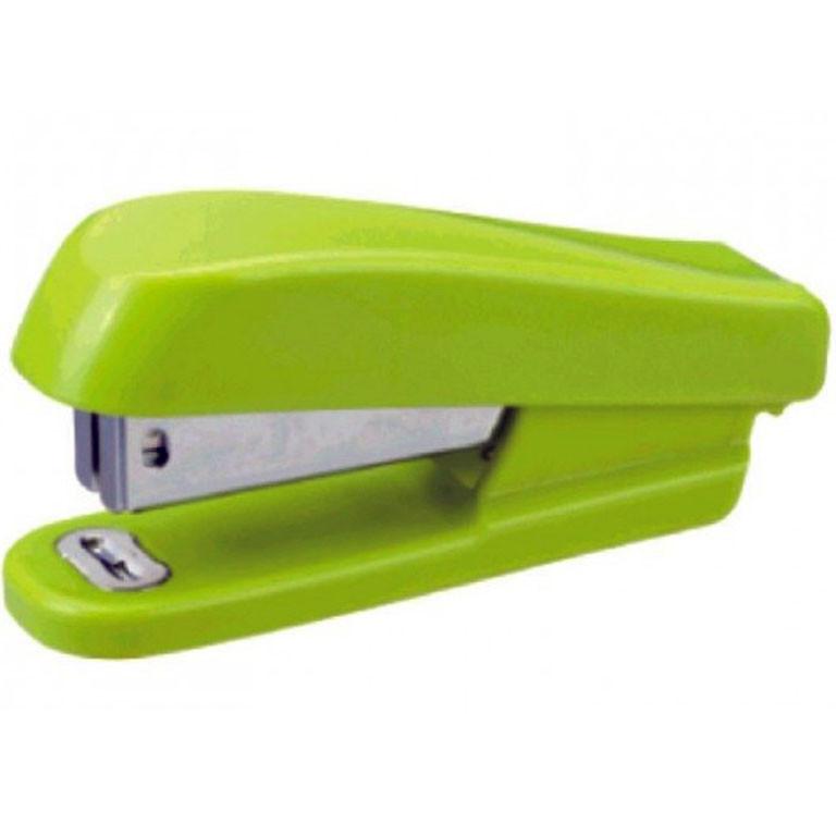 """Степлер Deli 0406-G зеленый №24 20л пласт """"Неон"""""""