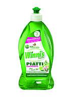 Гипоалергенное концентрированное средство для мытья посуды Winni's Piatti Concentrato Fiori de Lime  500ml
