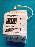 Цифровой терморегулятор ТРМ-25 на din-рейку 25А, фото 1