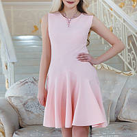 Платье Verezhik House 38 Розовое (7741R2)