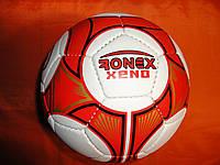 Мяч футбольный Ronex XENO бело-красный, размер 5