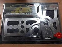 Накладки на педали Автомобильные МГ 1062 Vitol Автомат Хром