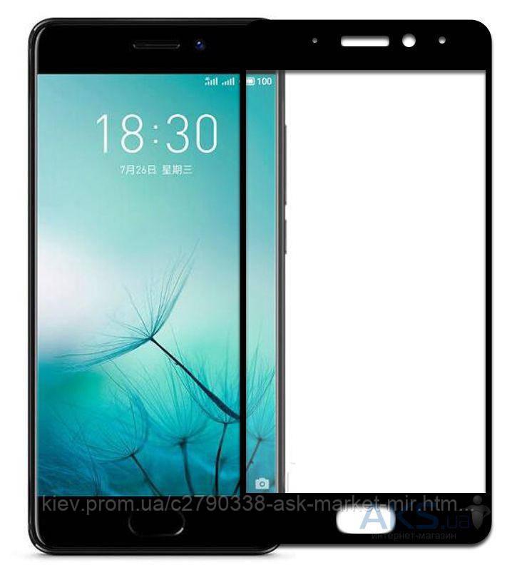 Защитное стекло Meizu Pro 7 Plus|Tempered Glass|Черный|На весь экран