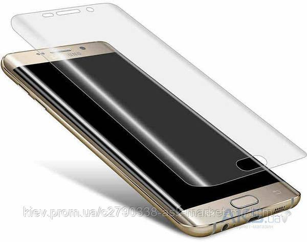 Защитное стекло Samsung G928 Galaxy S6 Edge Plus|Tempered Glass|На весь экран, фото 2