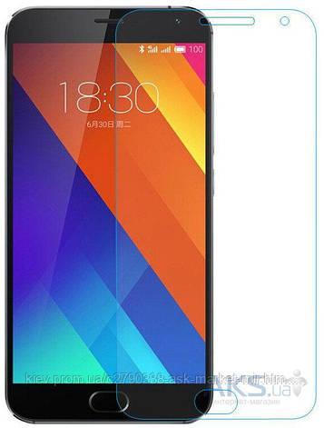 Защитное стекло Meizu Pro 5|TOTO|На весь экран|Углы закругленные, фото 2
