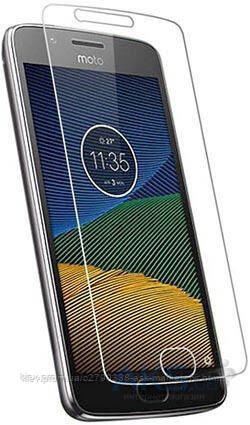 Защитное стекло Motorola Moto G5 XT1676|TOTO|На весь экран|Углы закругленные