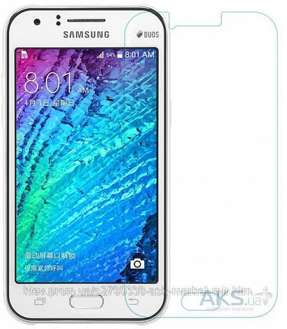 Защитное стекло Samsung J120 Galaxy J1 2016|TOTO|На весь экран|Углы закругленные, фото 2