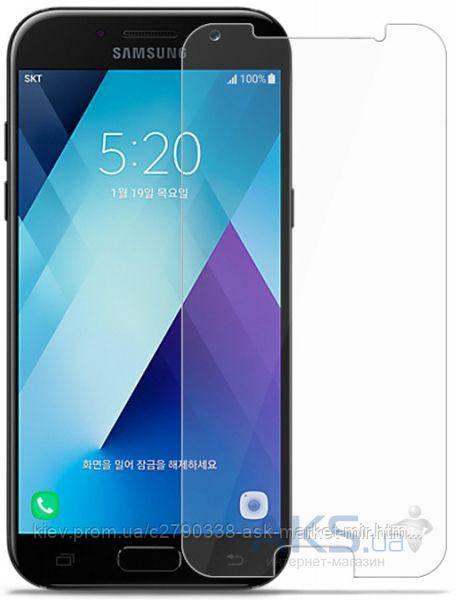 Защитное стекло Samsung A720 Galaxy A7 2017|TOTO|На весь экран|Углы закругленные
