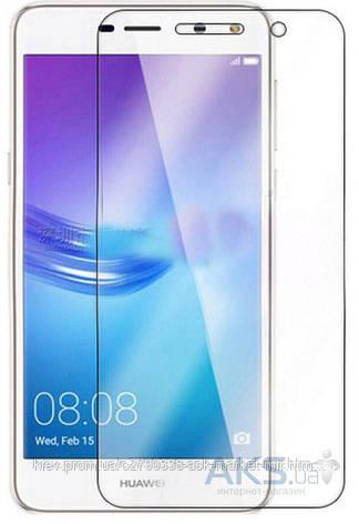 Защитное стекло Huawei Y5 2017 TOTO На весь экран Углы закругленные, фото 2