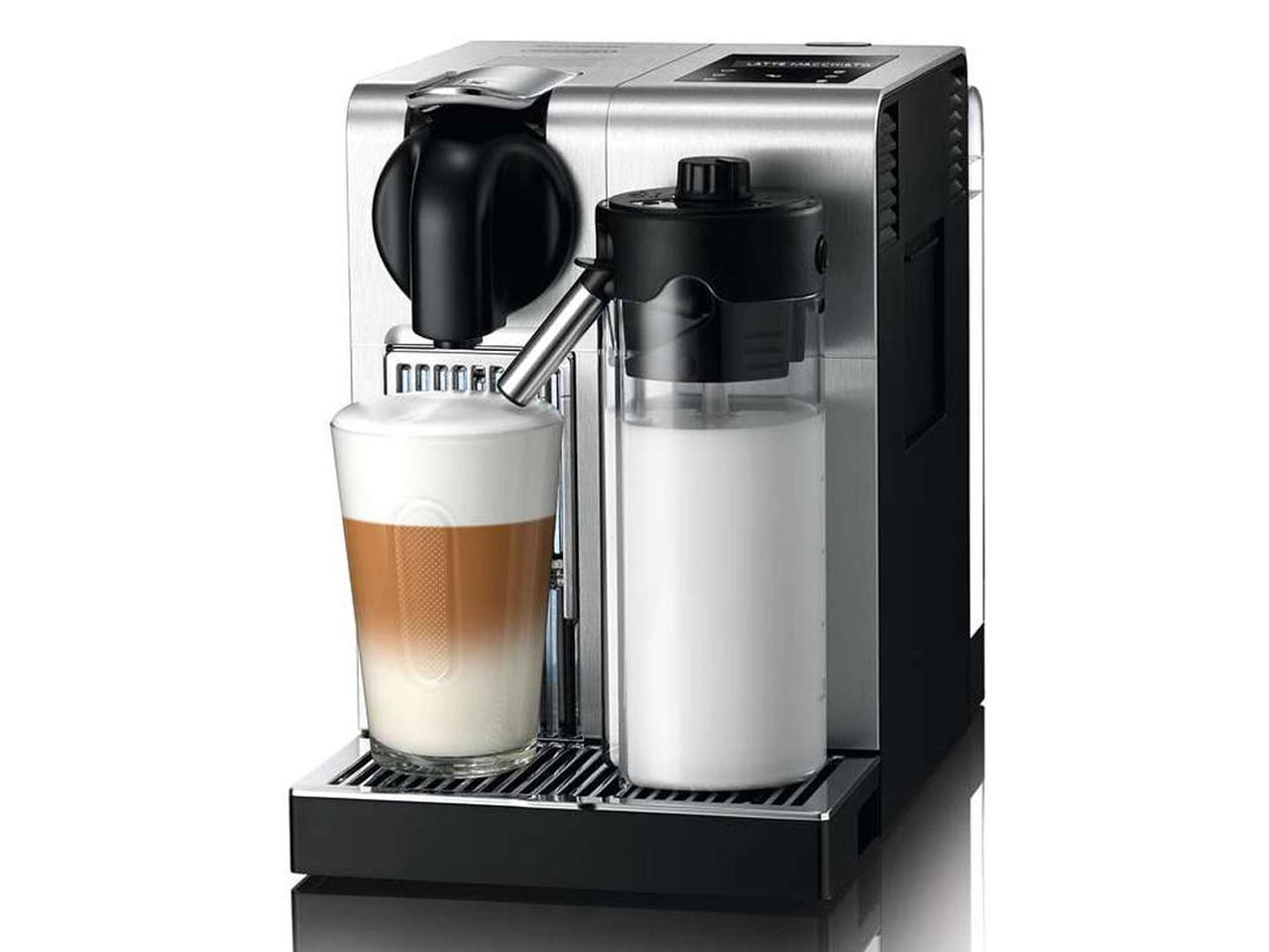 Капсульная кофемашина DeLonghi Nespresso Lattissima Pro EN 750.MB Silver