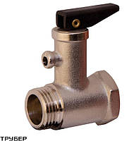 Обратный клапан  для бойлера со спусником 1/2' SANTAN