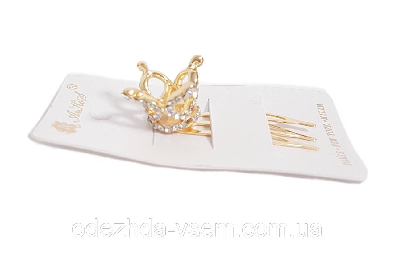 Заколочка - гребень с короной