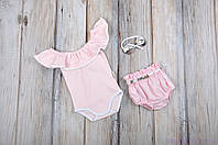 """Набор одежды для девочек """"Техас"""", Розовый, фото 1"""