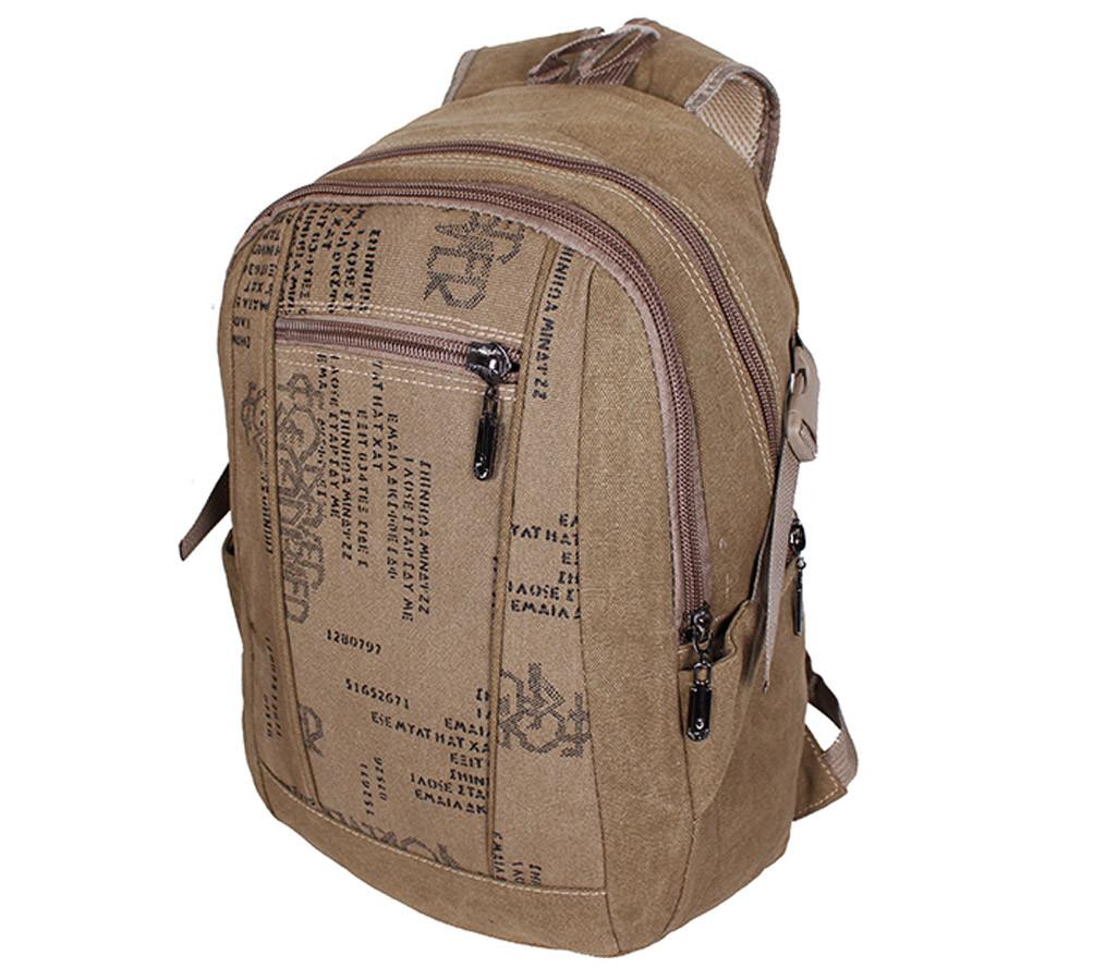 Рюкзак текстильный городской 303362-1Beige бежевый