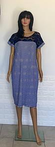 Платье-тельняшка из вискозы с кружевными вставками 50-58 р