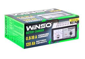 Зарядное устройство АКБ WINSO 12В, 18А (с амперметром)