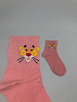Носки More than dope - средние - Розовая пантера