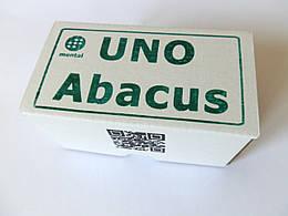 Карточная игра Uno уно Абакус соробан ментальная арифметика мини версия