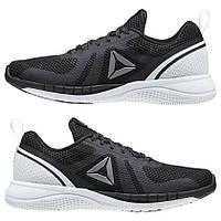 Кроссовки Reebok Print Run 2.0 Black White Черные мужские 8458d7c9862ce