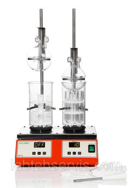 Установка для определения содержания клетчатки PF 12