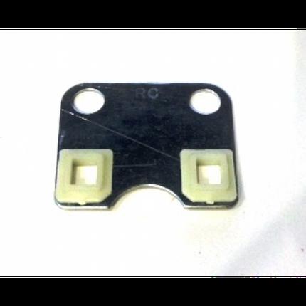 168F- пластина головки (направляющая штанги клапанов), фото 2
