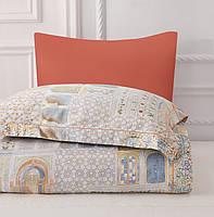 Комплект постельного белья двуспальный евро сатин Arya Fashionable  Anette