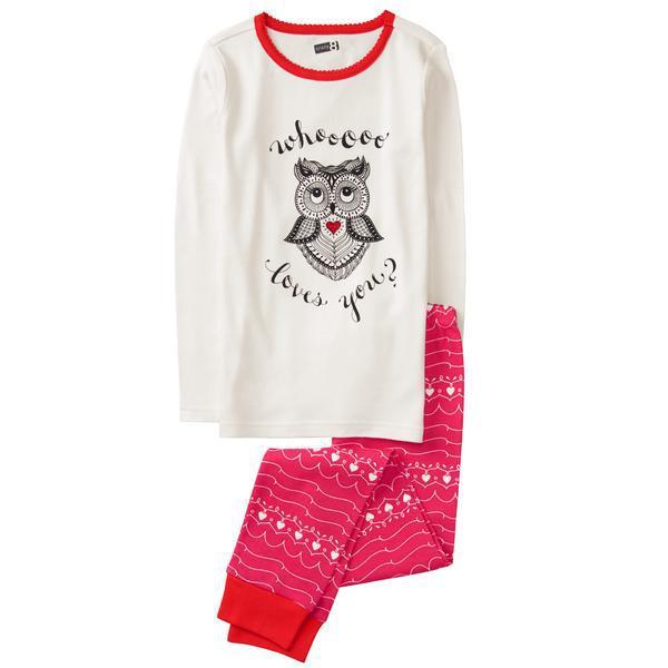 02e525cc1abc Детская пижама с рисунком Сова Crazy8 для девочки - Картерс-Опт в Белой  Церкви