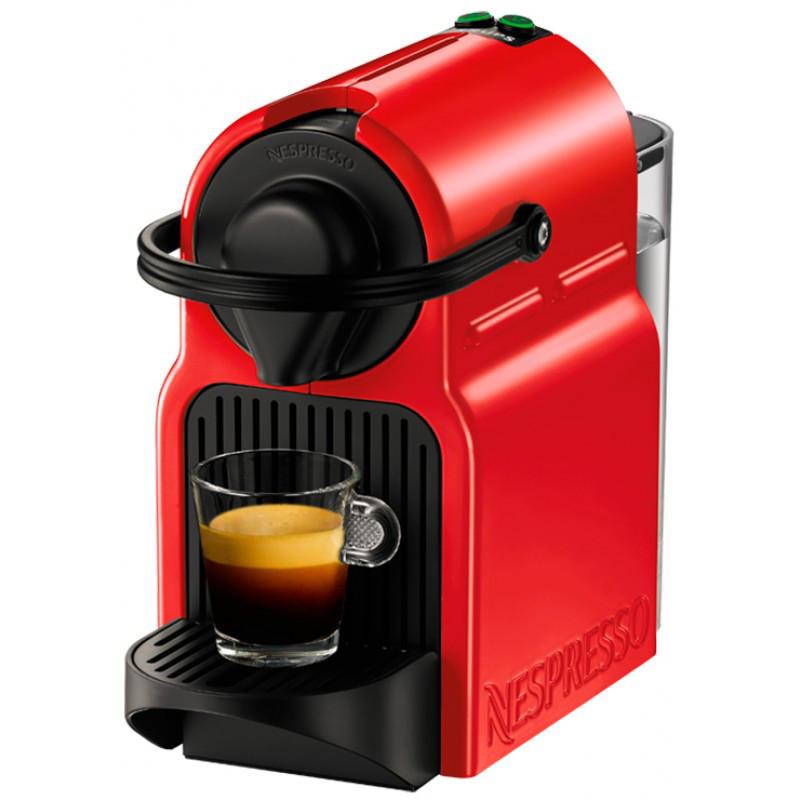 Капсульная кофемашина Nespresso Inissia Red