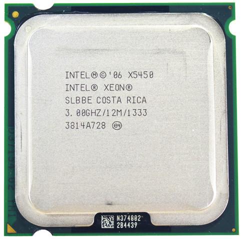 Процессор Intel Xeon X5450 4-ядра 3.0GHz SLBBE E0 для LGA775 + термопаста GD900