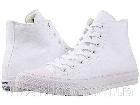 Мужские высокие кеды Converse Chuck Taylor All Star II High White РЕПЛИКА  ААА+ 5317a5f9937