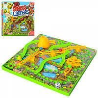 Настільна гра 007-82 змії і сходи, фішки, ігрове поле, кор., 30-30-7 см.