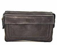 Мужской кожаный клатч VATTO Mk-33.4Kr670 черный