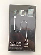 Кабель-тюльпан iPhone 4/4s