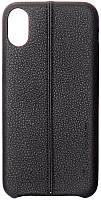 Чехол-накладка Usams Joe Series Apple iPhone X Black
