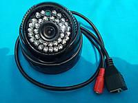 Купольная Ip камера TinoSec IPC DM-21 для внутренней установки, фото 1