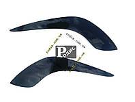 Реснички Renault Trafic II 2001-н.в./OPEL Vivaro I 2001 №1 (Spirit) - Накладки на оптику декоративные