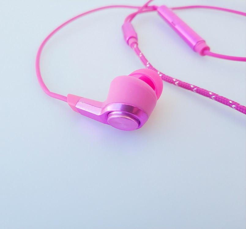 Наушники Xiaomi Mi5 Розовый цвет