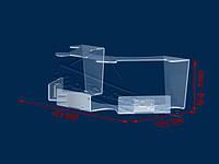 Стойка для демонстрации мобильных телефонов (прозрачный акрил), фото 1