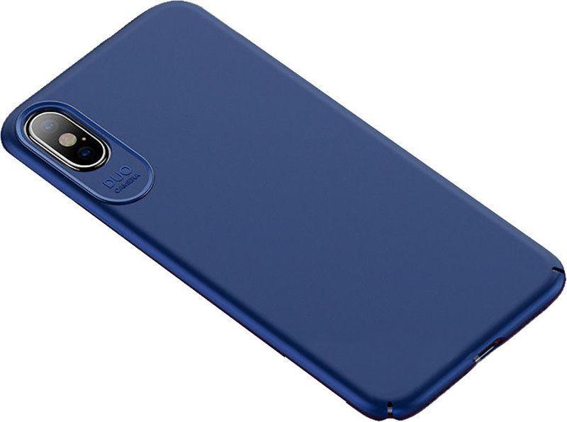 Чехол-накладка Usams Jay Series Apple iPhone X Blue