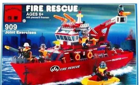 909 Брик Пожарная серия (18)