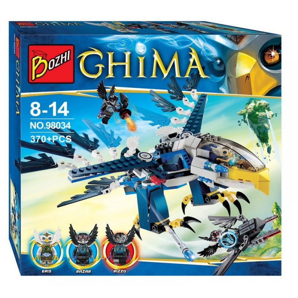 Конструктор Chima для мальчиков 98037
