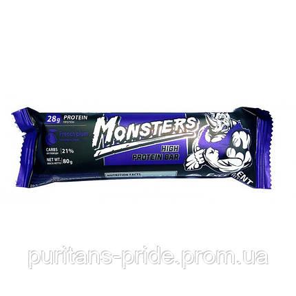 Monsters High Protein Bar 80 g Чернослив, фото 2