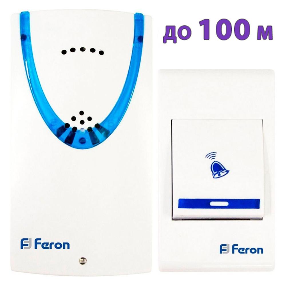 Беспроводной дверной звонок на батарейках Feron E-222